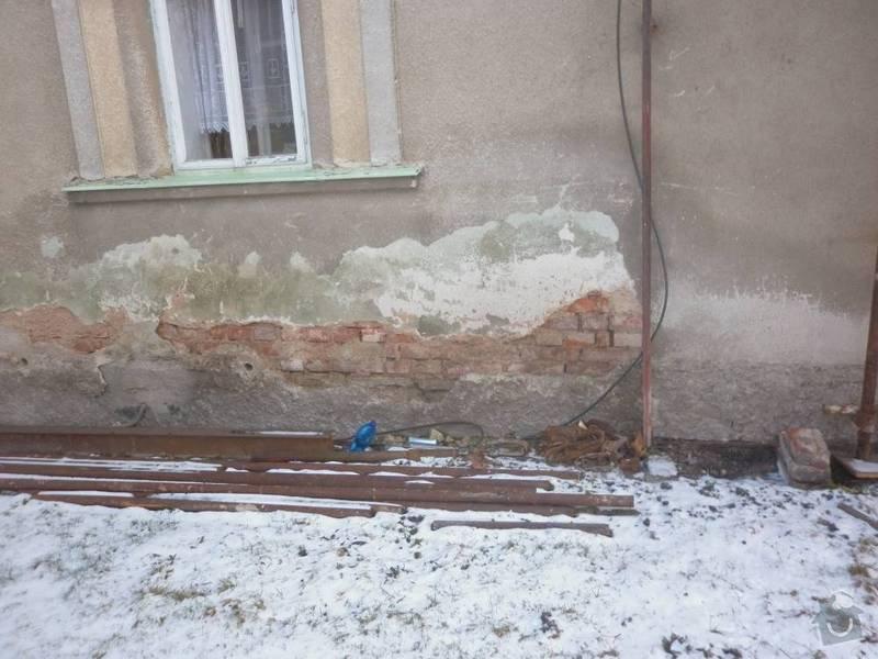 Podřezání rodinného domu: P1010764