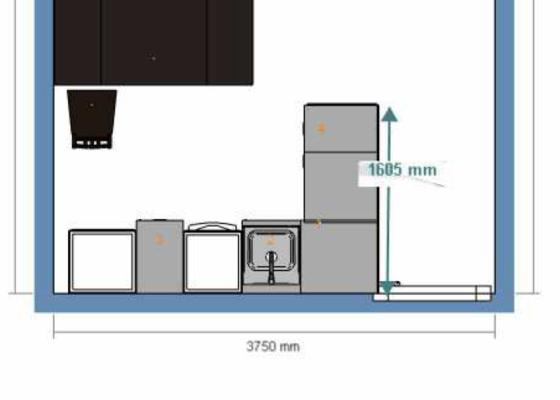 Asistence při kompletaci kuchyně Ikea