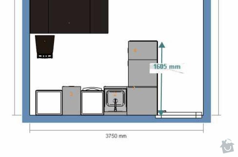 Asistence při kompletaci kuchyně Ikea: Kuchyn