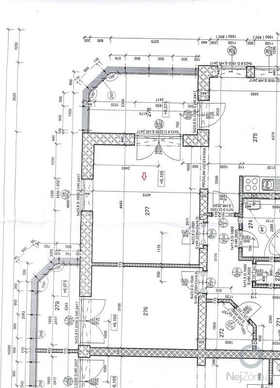 Designerký návrh a zpracování - obývací pokoj: byt_1