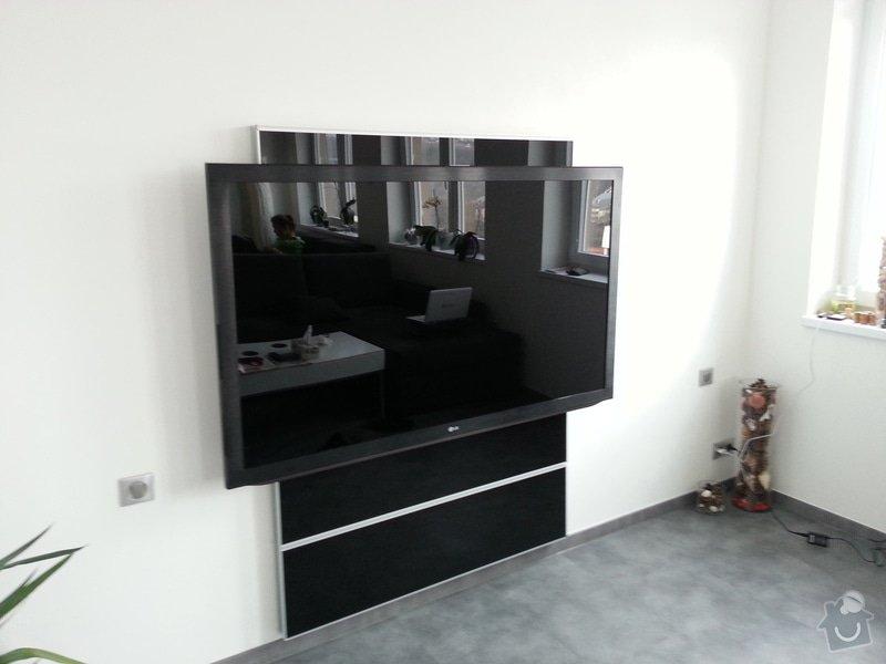 Instalace TV, rozvod HDMI kabelu, montáž lišt: 20130401_141554