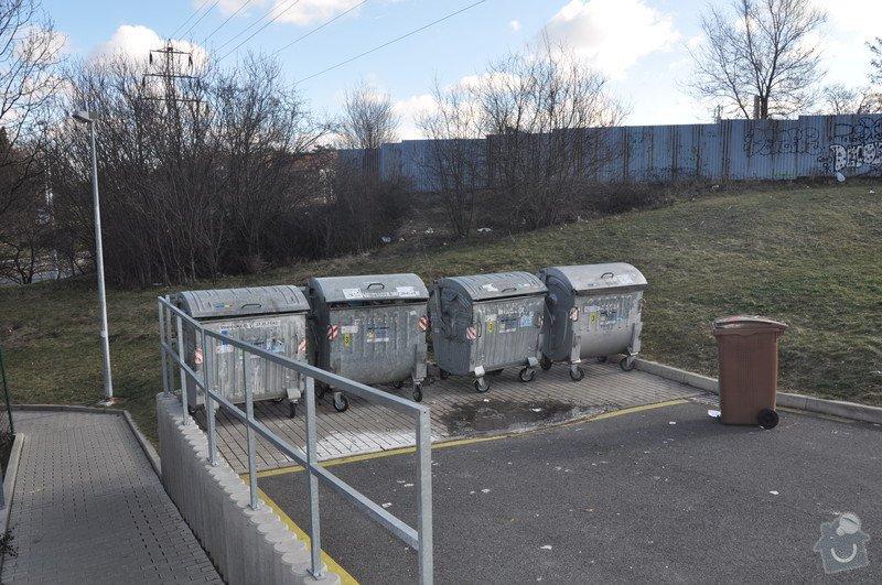 Oplocení odpadních kontejnerů: kontejnery