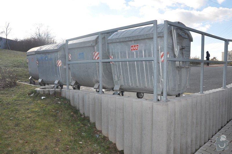 Oplocení odpadních kontejnerů: kontejnery2