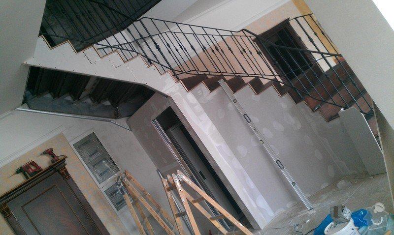Obložení schodiště v prodejně nábytku: IMAG0715
