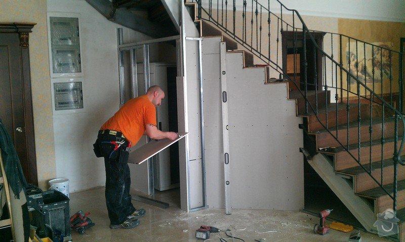 Obložení schodiště v prodejně nábytku: IMAG0712