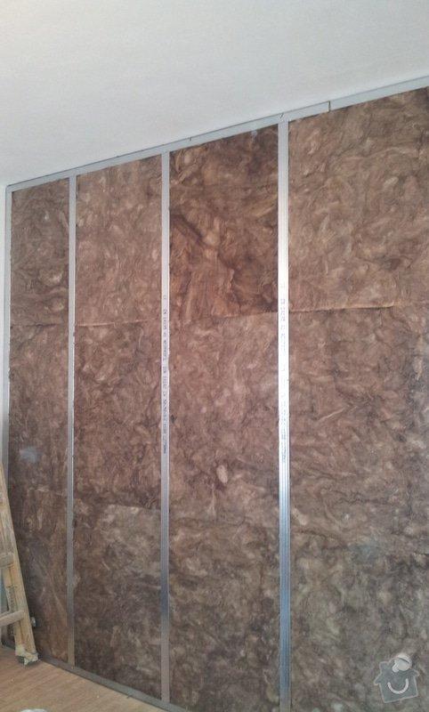 Odhlučnění stěny, 9 m2: 20130328_104934-1