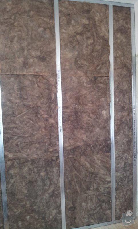 Odhlučnění stěny, 9 m2: 20130328_104944-1