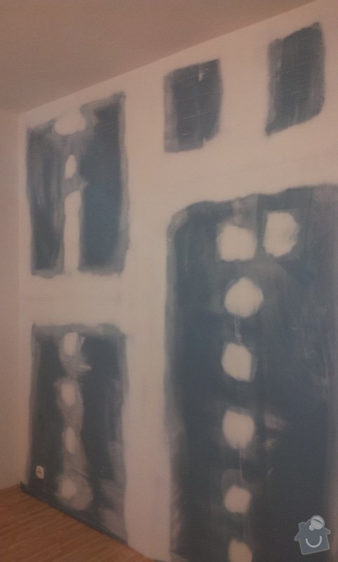 Odhlučnění stěny, 9 m2: 20130329_101331-1