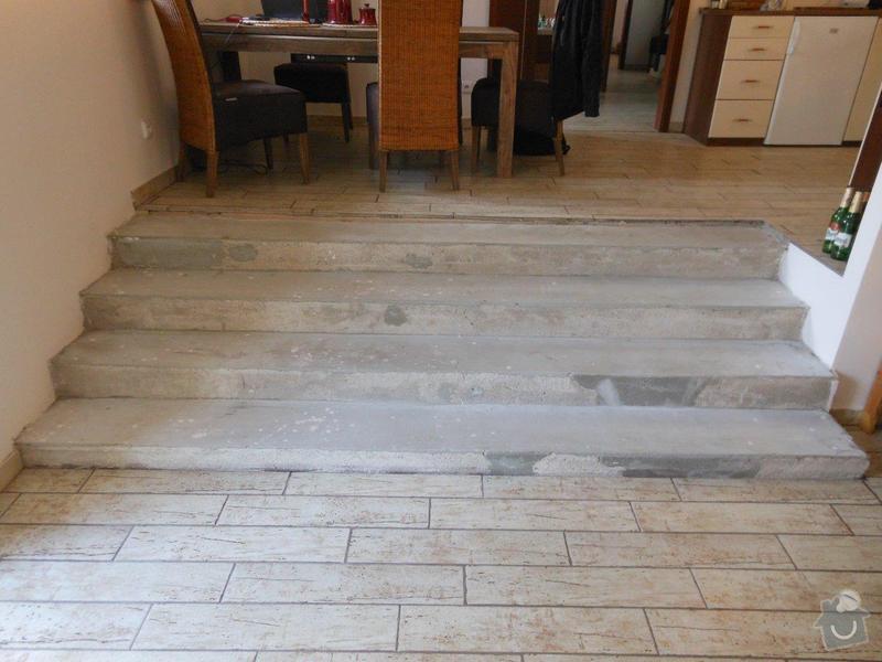 Obložení betonového schodiště dřevem: Schody_betonove_-_pohled