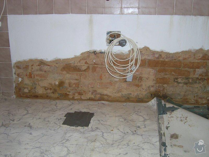 Sanace hydrozolace zed + podlaha: P1010001