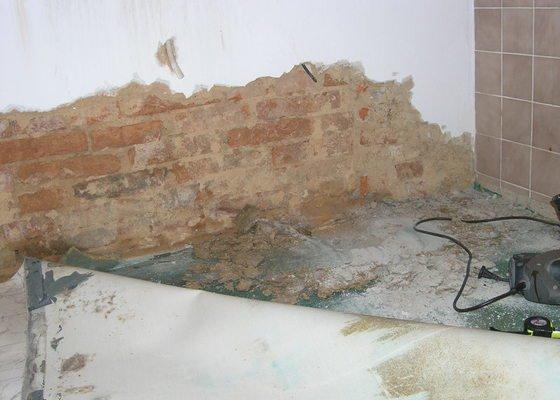 Sanace hydrozolace zed + podlaha