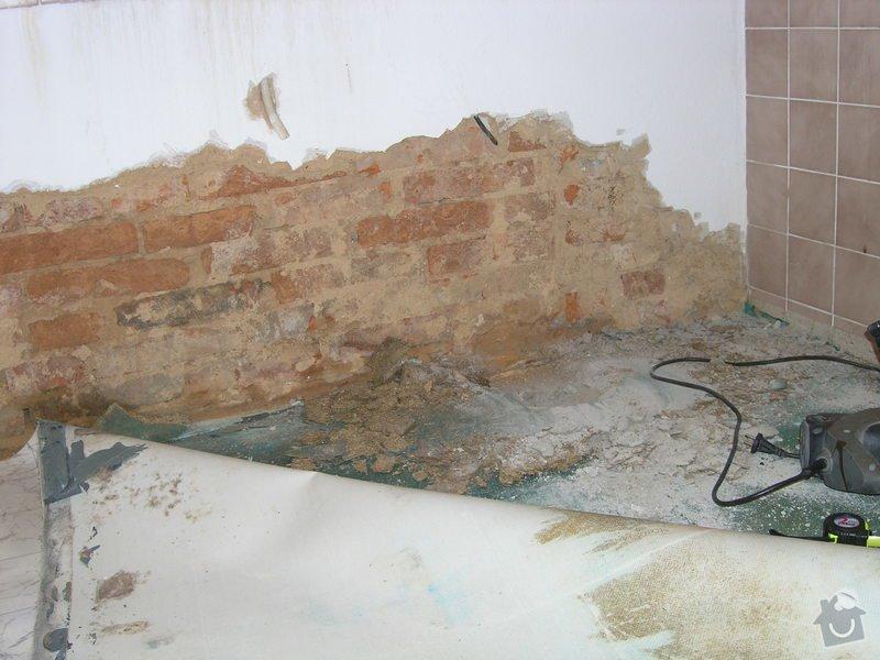 Sanace hydrozolace zed + podlaha: P1010002