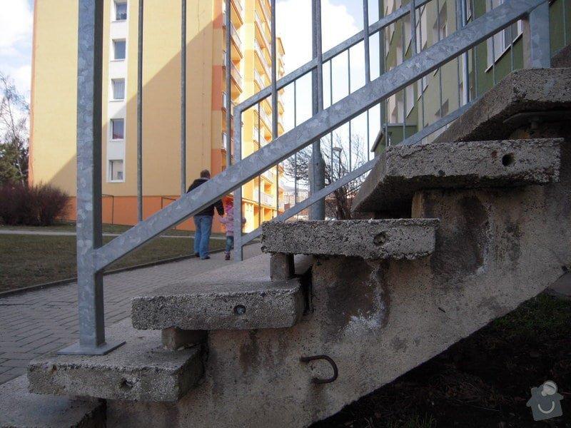 Renovace schodiště do panel.domu: DSCN4407