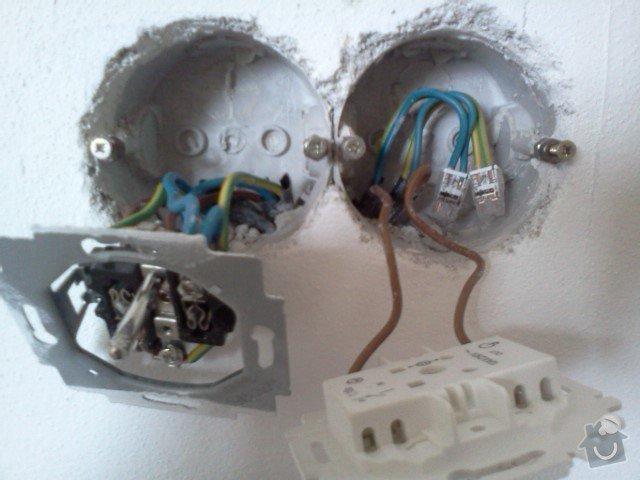 Přesunutí vypínačů a zásuvek Lysá n/L: IMG345