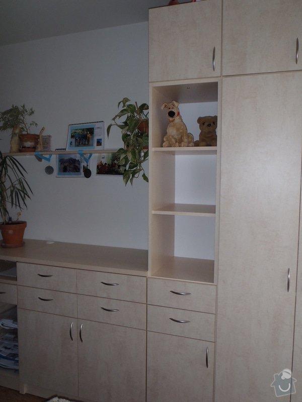 Výroba policové skříně do ložnicové sestavy: P4030003