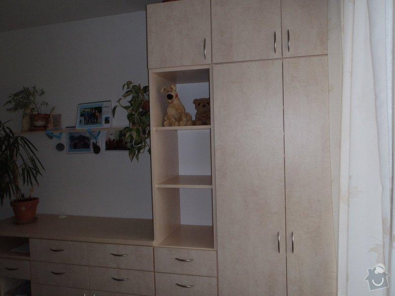 Výroba policové skříně do ložnicové sestavy: P4030004