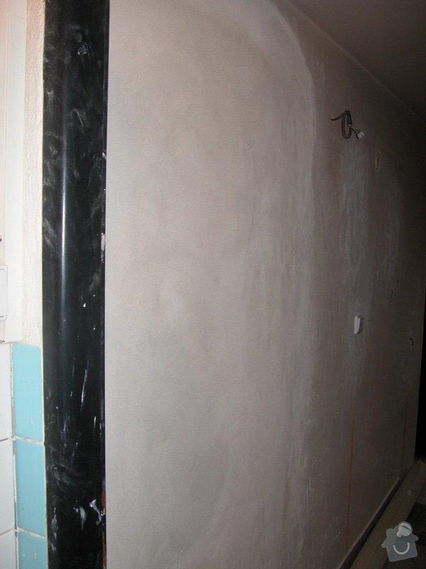 Oprava po předchozí firmě - rekonstrukce bytu v RD (1+1): DSCN1149