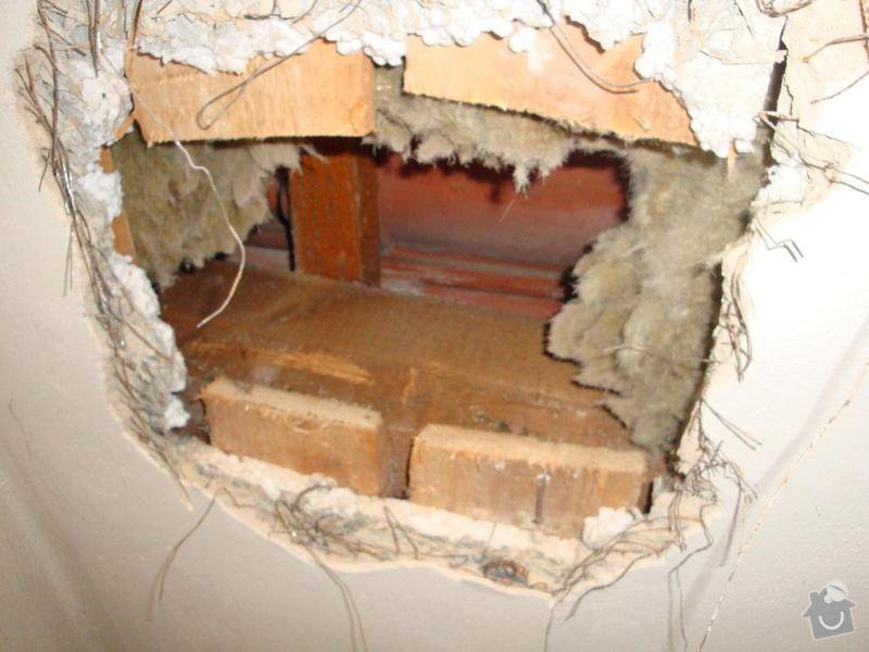 Částečná rekonstrukce rodinného domku: DSC04539