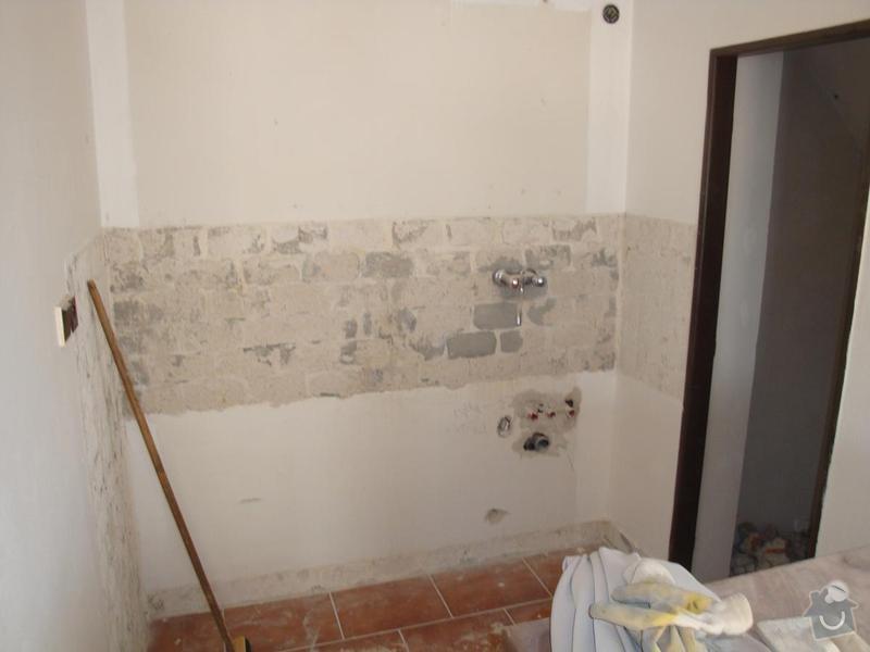 Částečná rekonstrukce rodinného domku: DSC04541