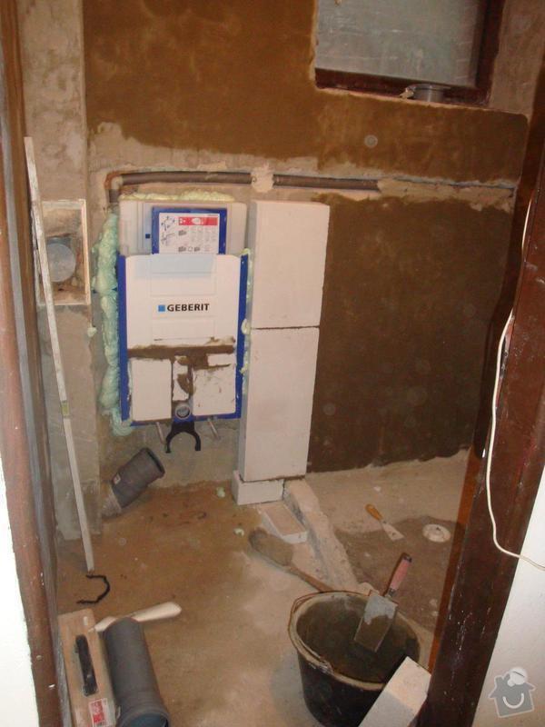 Částečná rekonstrukce rodinného domku: DSC05591