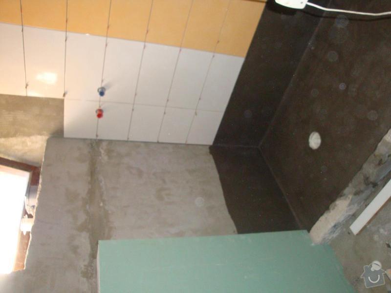 Částečná rekonstrukce rodinného domku: DSC05602