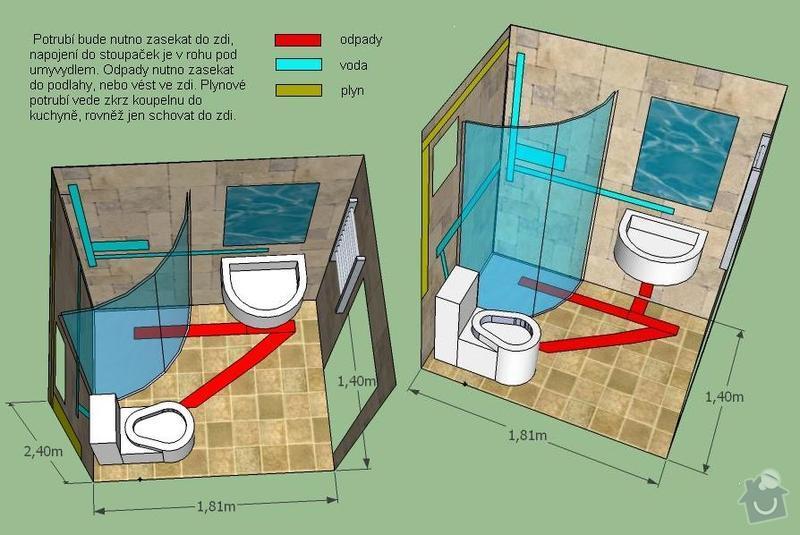 Rekonstrukce bytové koupelny: koupelna_3