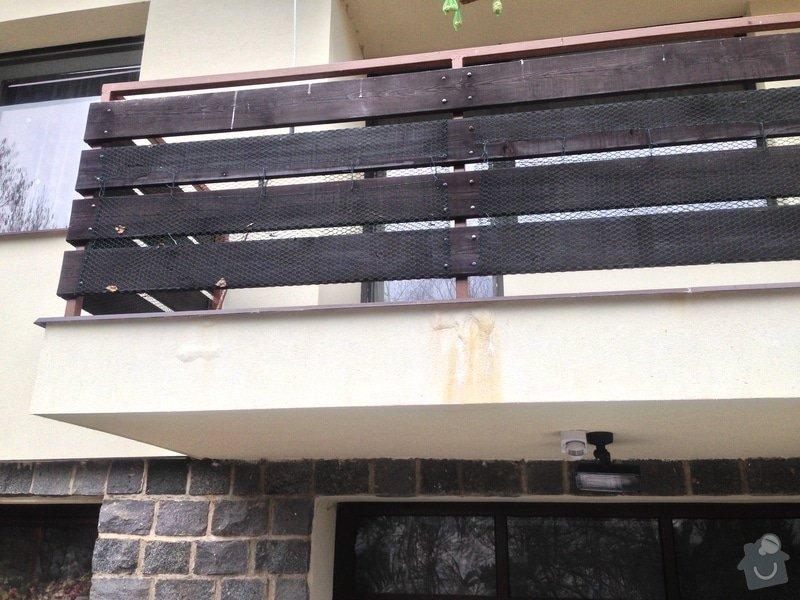Oprava izolace a parapetu balkonu + okap: IMG_0026_1_
