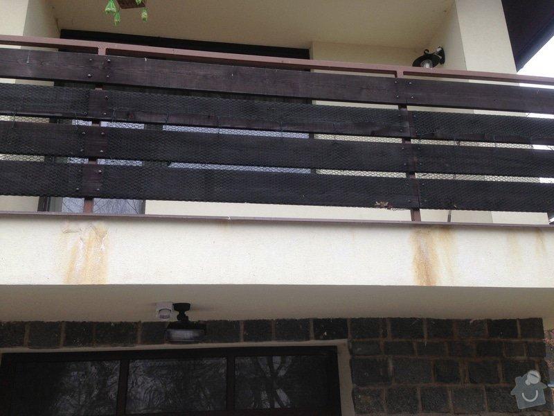 Oprava izolace a parapetu balkonu + okap: IMG_0027_1_