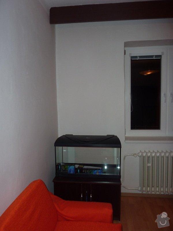 Výroba obývací stěny na vestavěné akvárium: P1050229