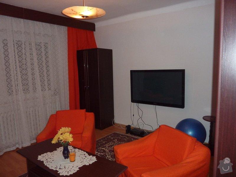 Výroba obývací stěny na vestavěné akvárium: P1050231