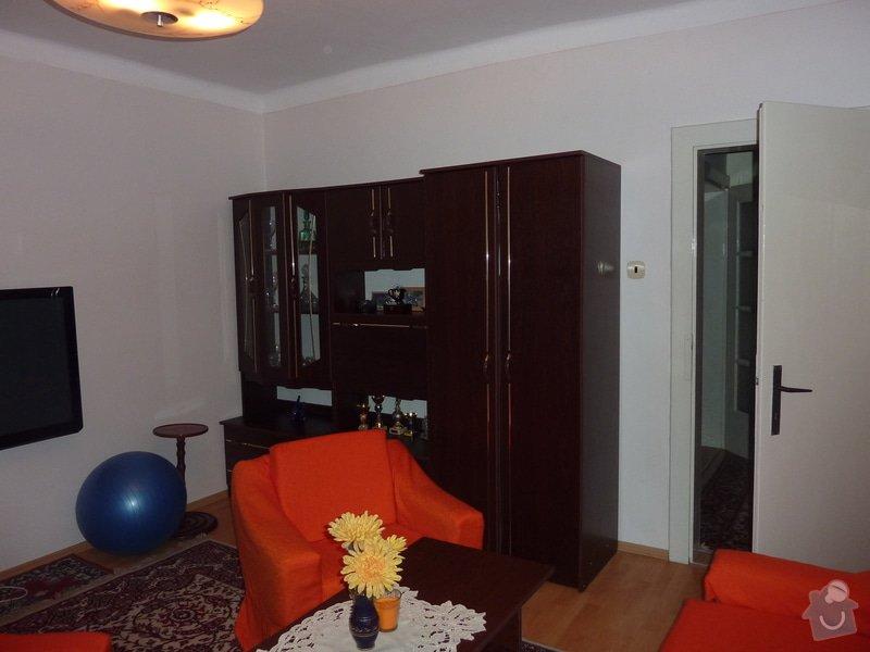 Výroba obývací stěny na vestavěné akvárium: P1050232