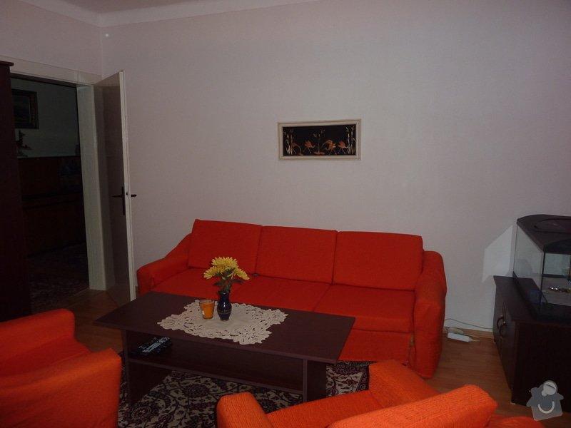 Výroba obývací stěny na vestavěné akvárium: P1050233