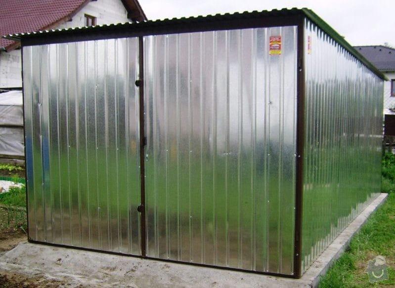 Plechová garáž: SSA40281