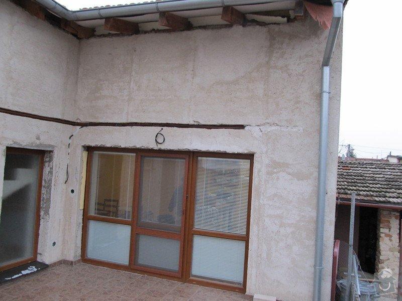 Návrh+realizace zateplení, podbití střechy, fasáda, rozšíření terasy, oplocení: IMG_1846