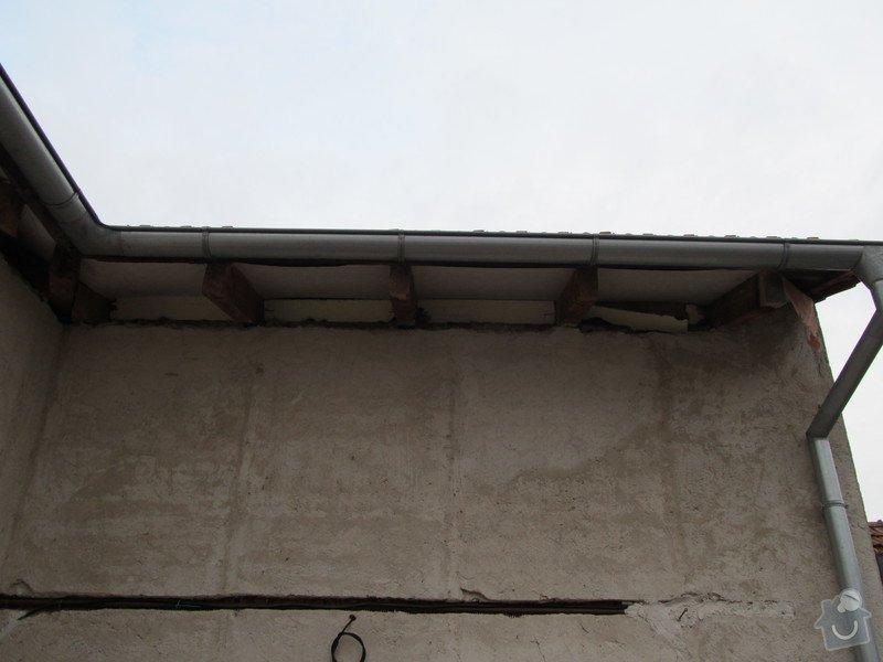 Návrh+realizace zateplení, podbití střechy, fasáda, rozšíření terasy, oplocení: IMG_1847