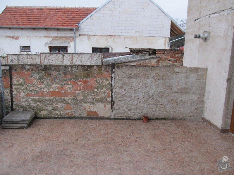 Návrh+realizace zateplení, podbití střechy, fasáda, rozšíření terasy, oplocení: IMG_1849