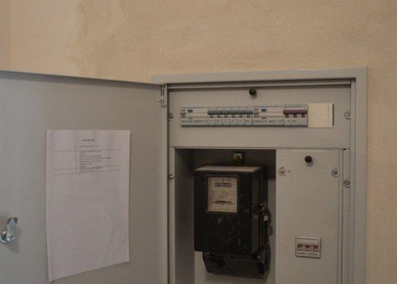 Rekonstrukce elektroinstalace ve wellness