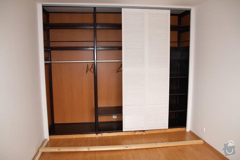 Dokončení vestavěné šatní skříně: IMG_1102