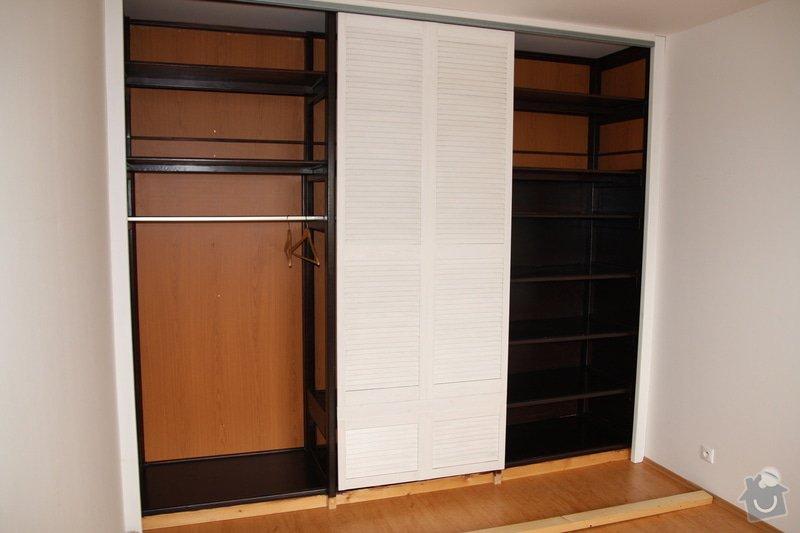 Dokončení vestavěné šatní skříně: IMG_1103