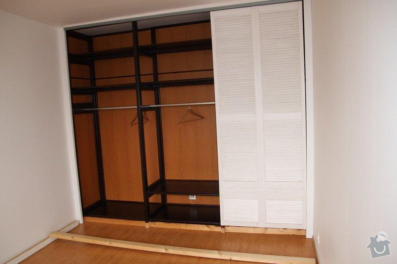 Dokončení vestavěné šatní skříně: IMG_1104