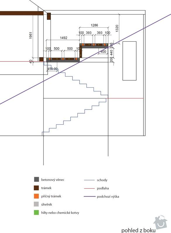 Rozšíření podlahové plochy: bokorys