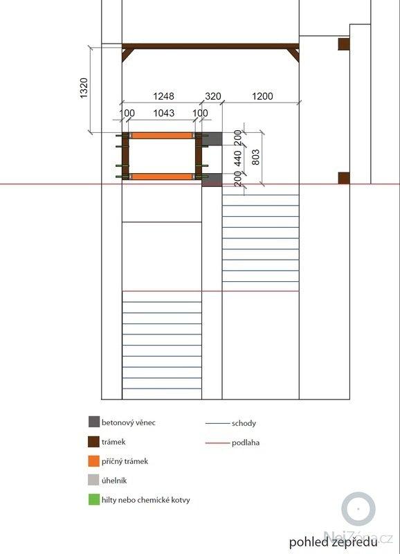Rozšíření podlahové plochy: pudorys