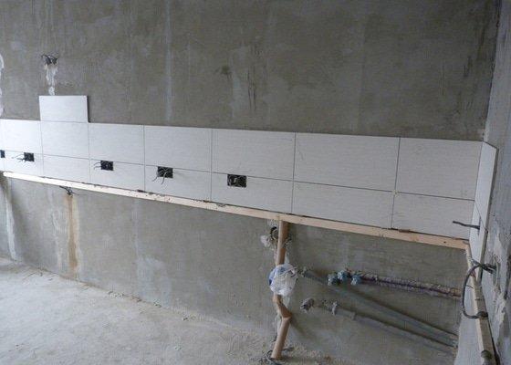 Rekonstrukce části bytu (obývací pokoj + kk) v panelovém domě