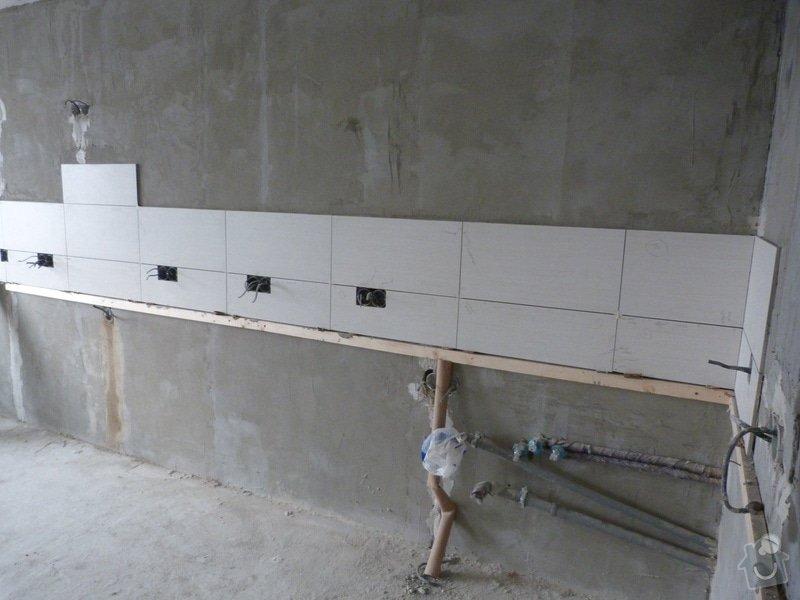 Rekonstrukce části bytu (obývací pokoj + kk) v panelovém domě: P1010613