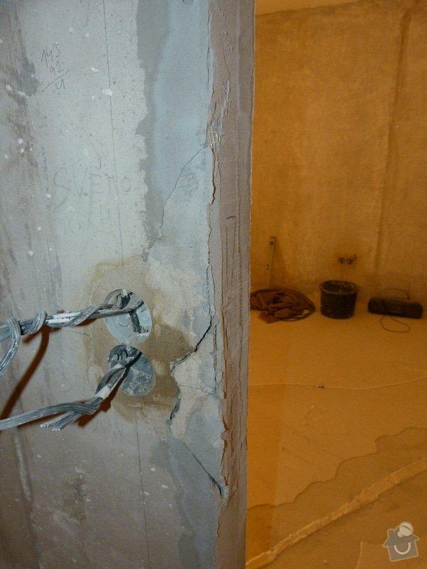 Rekonstrukce části bytu (obývací pokoj + kk) v panelovém domě: P1010684