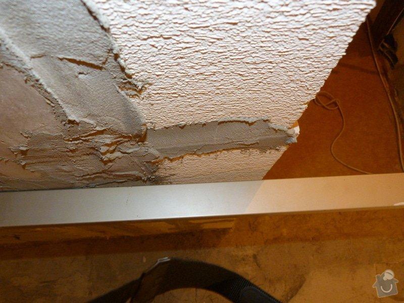Rekonstrukce části bytu (obývací pokoj + kk) v panelovém domě: P1010689