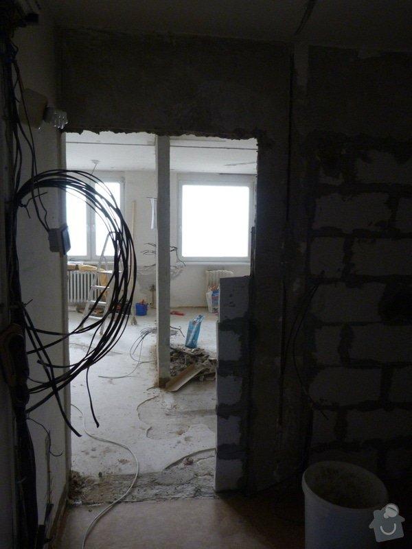 Částečná rekonstrukce elektroinstalace v bytě: P1010612