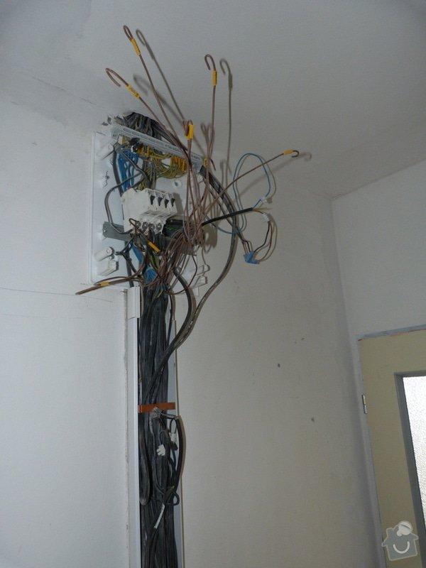 Částečná rekonstrukce elektroinstalace v bytě: P1010792