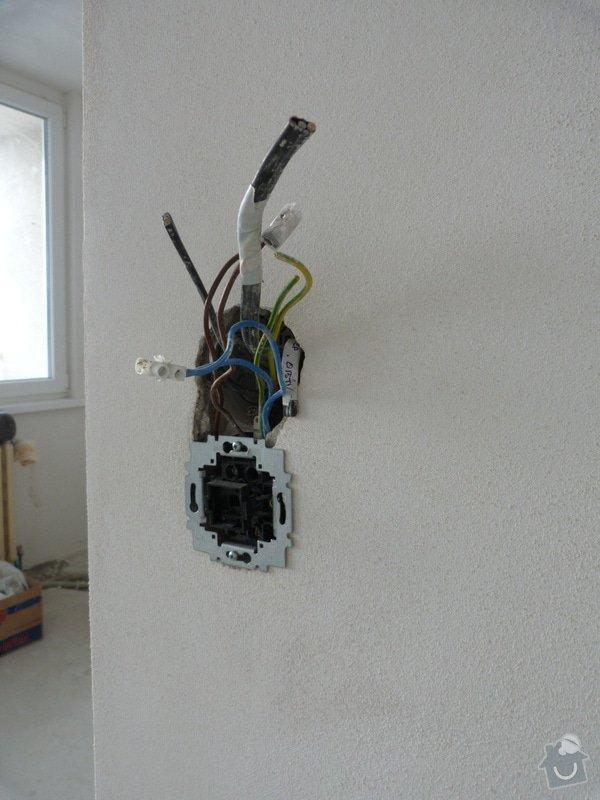Částečná rekonstrukce elektroinstalace v bytě: P1010794