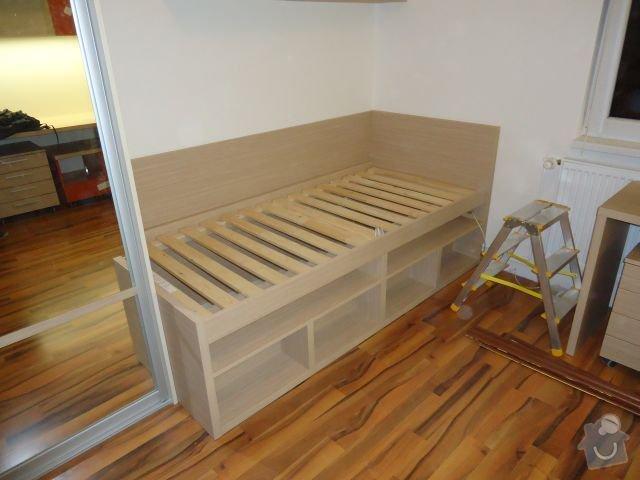 Zakázkový nábytek - ložnice, studentský pokoj: DSC02208